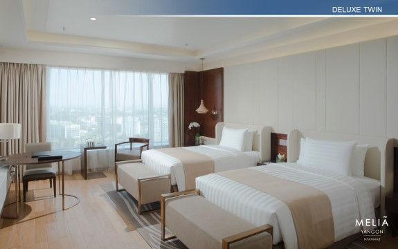 The New Meliá Yangon Is A Luxury City Hotel With An Elegant Interior Design,  A Contemporary And Cutting Edge Flair With An Extensive, New And  Comfortable ...